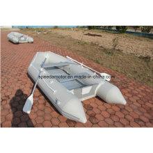 Material do casco do PVC Inflatable Sport Boat