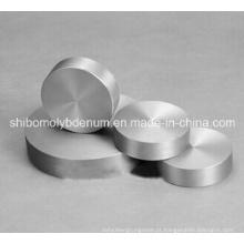 99,95% de disco de molibdênio polido puro