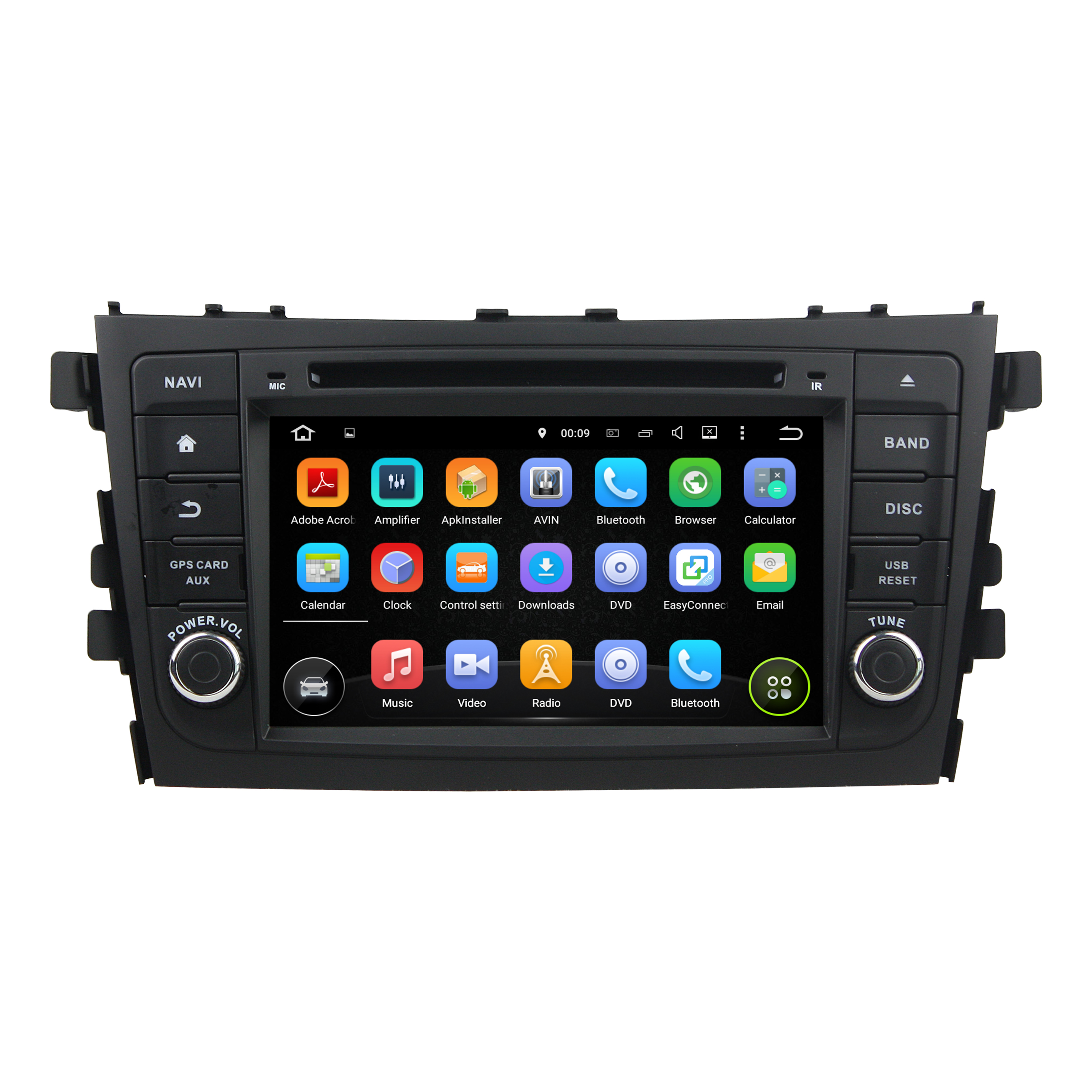 CELERIO 2015-2016 car dvd player for Suzuki series