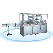 Filme tridimensional filme transparente sobre a máquina