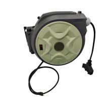 Carrete de cable de alimentación retráctil automático