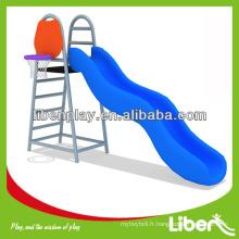 Toboggan unique en plein air avec basket-ball, glissière à vague de piscine LE.JS.155.01