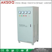 Caliente tipo estabilizador automático eléctrico del voltaje de la ciencia de la fase 50HZ / 60HZ 380V TNS 6-90kva servo hecho en lLiuShi YueQing China