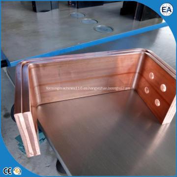 Dobladora de barras colectoras CNC servo