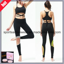 Custom Made High Quality Spliced ​​Women Fitness Wear Pantalons de yoga