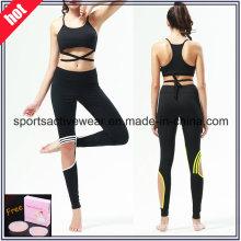 Custom Made High Quality Spliced Women Fitness Wear Yoga Pants