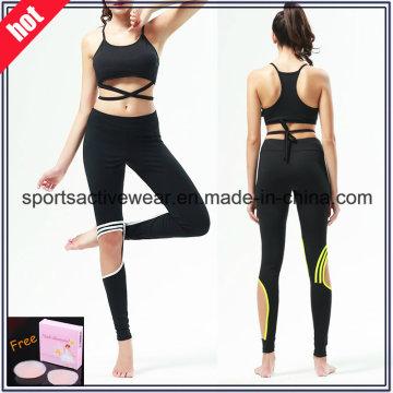 Штаны из высококачественного сплайсированного женского белья для фитнеса