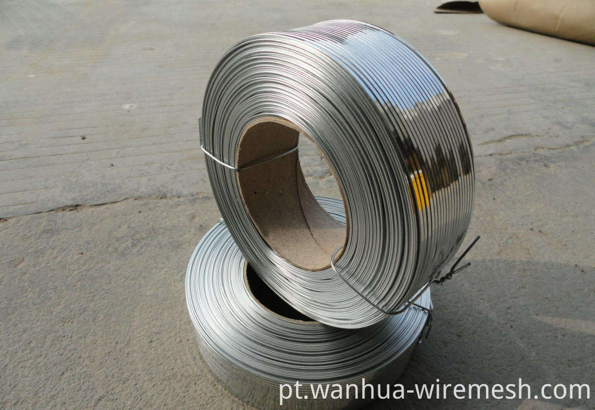 304L Flat Stainless steel wire (1)
