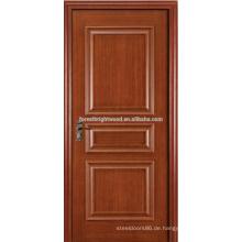 Erhöht Formteil gemaltes Furnier 3 Platten-Schwingen-klassische Innenraumtüren mit Griff