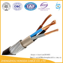 690 tension XPLE 3 * 50, 3 * 35, câble de SWA pour la mine de charbon souterraine