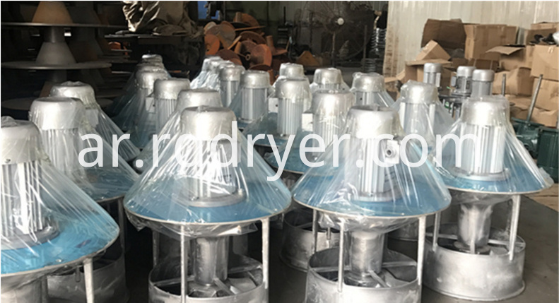 drying oven axial fan