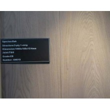 Plancher en bois franc ultra bon marché de China Best Oak