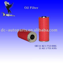 Oil Filter Element 11 42 1 713 698 for BMW