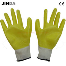 Nh001 Nitrile Half Coated Protective Gloves