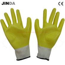 Защитные перчатки Nh001 с нитрилом