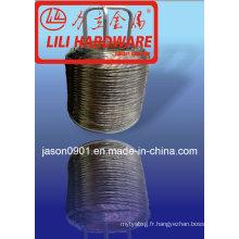 Fil en acier, fil en acier au carbone, usine de fil d'acier à ressort