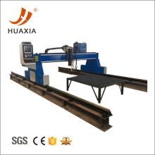 CNC cortador de plasma de pórtico de placa de metal grande