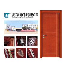 Puerta interior de chapa de madera (LTS-120)