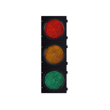 Rotes gelbes grünes 300mm wasserdichtes LED-Verkehrssignallicht