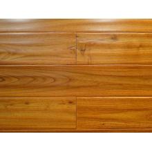 Cloor antiguo de la naturaleza con pisos de madera sólida de Robinia teca china engrasada