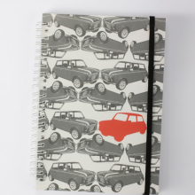 Coloridos cuadernos impresos con tamaño a5