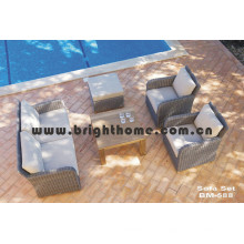 Rattan Wicker Sofa Set Gartenmöbel Bm-588