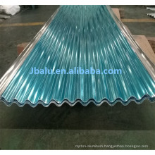 decorative 3mm 4mm roofing corrugated aluminum sheet metal