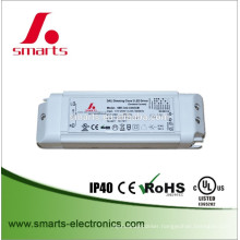 30W 350ma Single output DALI Dimmable constant current LED Driver IP20