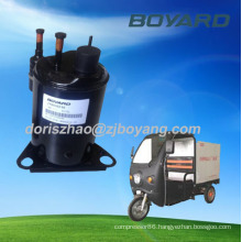 R134A BOYARD DC battery rv air conditioner 12 volt compressor for truck or trailer cabin sleeper CAB EV A/C KIT
