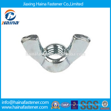 China Supplier In Stock DIN315 Stainless Steel/Carbon wing nut/butterfly wing nut