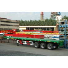 Hot sale reasonable price for CIMC Flatbed Semi-Trailer CIMC Flatbed Trailer with Twist Locks supply to United Kingdom Factory