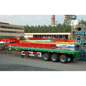CIMC Flatbed Trailer with Twist Locks