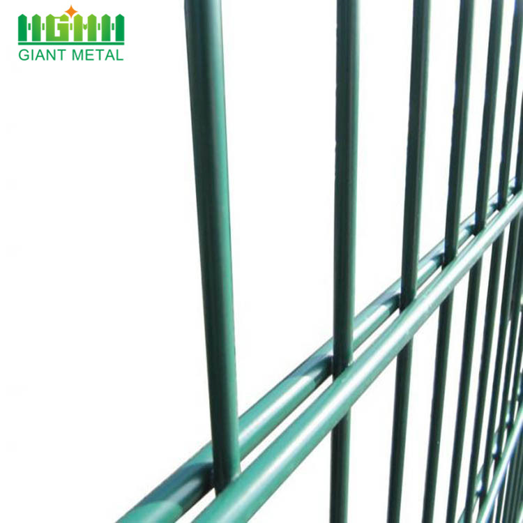 Power Coated Green Double Horizontal Wire Fence China Manufacturer