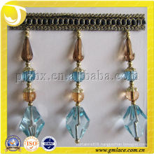 Quality Hyaline Acrylic Beads Fringe for the Door Curtain and the Lamp