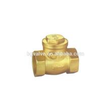 Válvula de retención horizontal de latón BGH14W