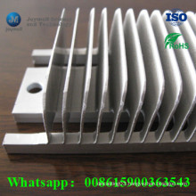 Customized Aluminum Blade Heatsink for High Powder Machine