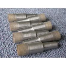 18 mm broca / sinterización diamante y bronce Taladro broca de vástago/cónico-bit / pedacito de taladro para perforar vidrio del diamante