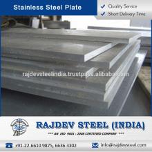 La mejor ingeniería diseñó la placa de acero inoxidable 304L en el precio de mercado más bajo