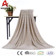 manta de lana de franela acogedora de alta calidad precio barato de alta calidad