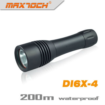Maxtoch DI6X-4 Waterproof LED Diving XML