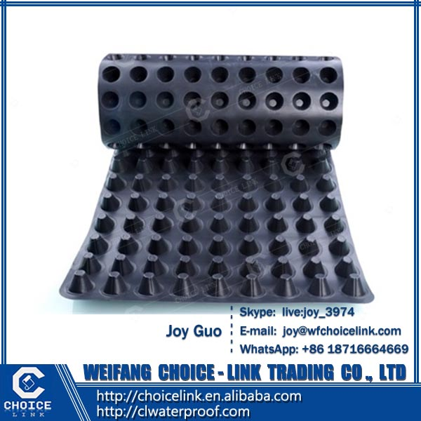 for waterproof dimple drainage board