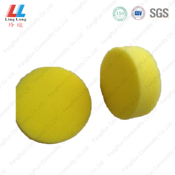 Circle bathing yellow sponge tools