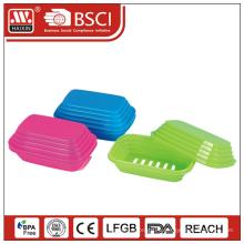 Оптовая мыло поле дешевые пластиковые мыльница & мыльница
