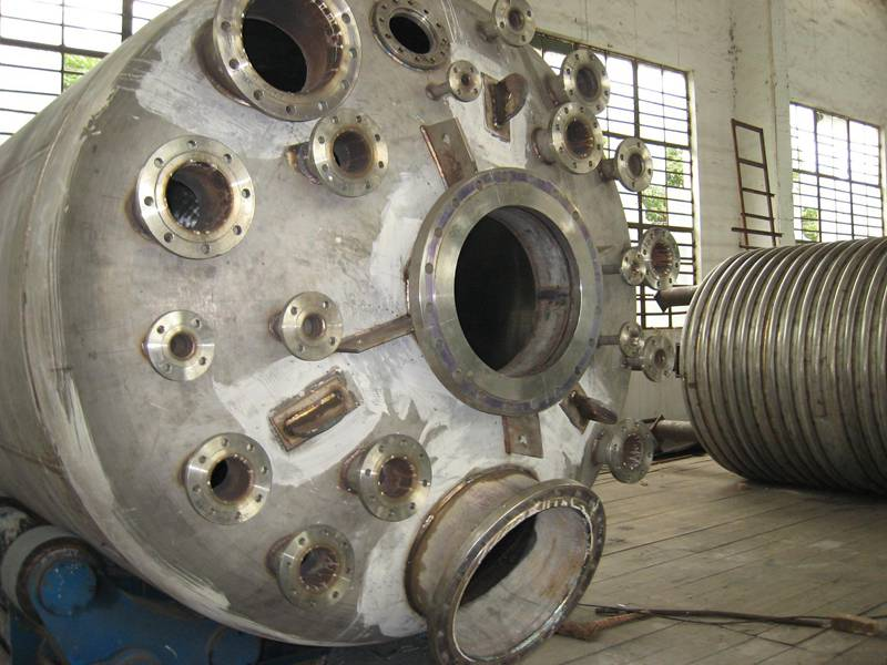 50 Cubic Heating Stainless Steel Reactor