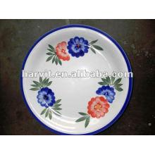 Placa de cerámica al por mayor / placa de gres / 8''hand-pintura placa / placa de cara / placa de cerámica