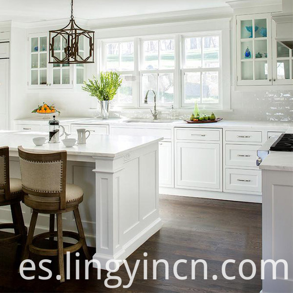 Painted Shaker Modular Kitchen Cabinets Designs 3