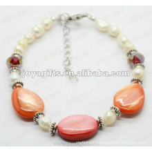 Fashion Pearl Shell Beaded Anklet