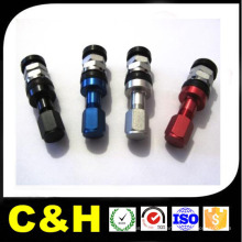 CNC que gira alumínio Al7075 / Al6061 / Al2024 / Al5051 CNC de alumínio da peça que trabalha para a bicicleta