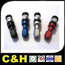 CNC токарная обработка алюминия Al7075 / Al6061 / Al2024 / Al5051 Алюминиевая деталь CNC обработка для велосипедов