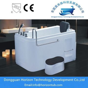 Constant temperature bath for elders